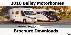 2016 Bailey Approach Motorhomes Brochure Downloads