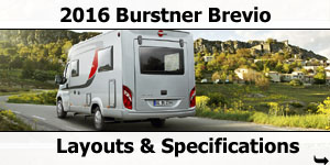 2016 Burstner Brevio Motorhomes For Sale