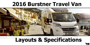 2016 Burstner Travel Van Motorhomes For Sale