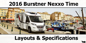 2016 Burstner Nexxo Time Motorhomes For Sale