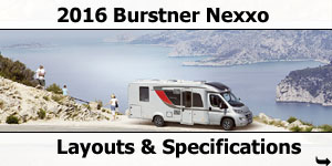 2016 Burstner Nexxo Motorhomes For Sale