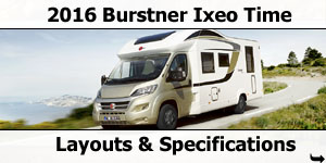 2016 Burstner Ixeo Time Motorhomes For Sale