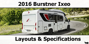 2016 Burstner Ixeo Motorhomes For Sale