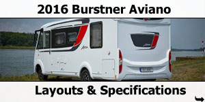 2016 Burstner Aviano Motorhomes For Sale