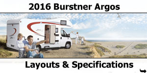 2016 Burstner Argos Motorhomes For Sale