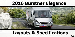 2016 Burstner Elegance Motorhomes For Sale