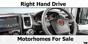 Right Hand Drive Motorhomes For Sale