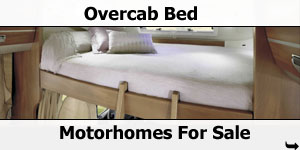 Over Cab Bed Motorhomes For Sale