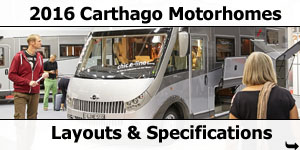 2016 Carthago Motorhomes For Sale