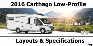 2016 Carthago Low-Profile Motorhomes For Sale