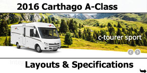 2016 Carthago A-Class Motorhomes For Sale