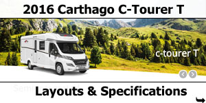 2016 Carthago C-Tourer T Motorhomes Layouts