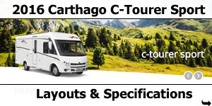 2016 Carthago C-Tourer Sport I Motorhomes Layouts