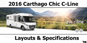 2016 Carthago Chic C-Line I Motorhomes Layouts