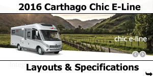 2016 Carthago Chic E-Line I Motorhomes Layouts