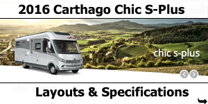2016 Carthago Chic S-Plus I Motorhomes Layouts