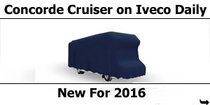 2016 Concorde Cruiser Iveco Daily Launch