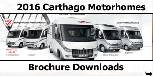 2016 Carthago Motorhomes Brochure Downloads