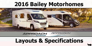 2016 Bailey Motorhomes For Sale