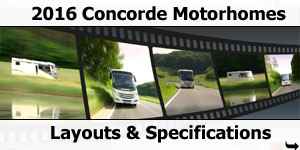 2016 Concorde Motorhomes For Sale