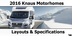 2016 Knaus Motorhomes For Sale