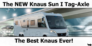 2016 Knaus Sun I Tag-Axle Motorhome Launched