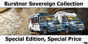 Burstner 2016 Sovereign Collection Special Editions