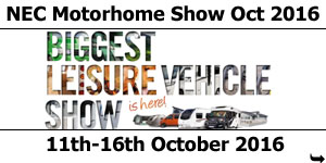 Luxury The Motorhome Caravan Show 2015 It S At The Nec From 13 18 October See