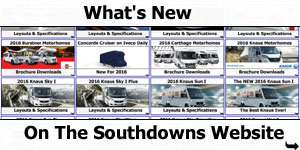 What's New on the Southdowns Website