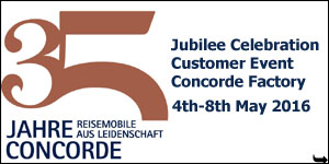 2016 Concorde 35th Jubilee Anniversary Customer Event