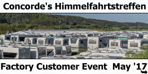 Concorde Himmelfahrt Factory Customer Event May 2017