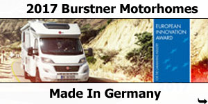 2017 Burstner Motorhomes -  Made In Germany