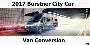 2017 Burstner City Car Motorhomes