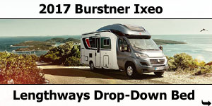 2017 Burstner Ixeo Low-Profile Motorhomes
