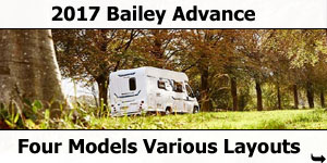 2017 Bailey Advance Motorhomes