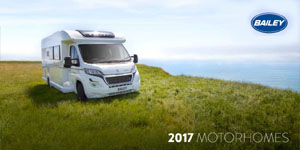 2017 Bailey Motorhome Brochure Cover