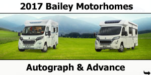 2017 Bailey Autograph & Advance Motorhomes