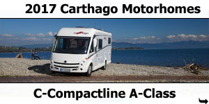2017 Carthago C-Compactline A-Class Motorhomes For Sale