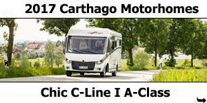 2017 Carthago Chic C-Line A-Class Motorhomes For Sale