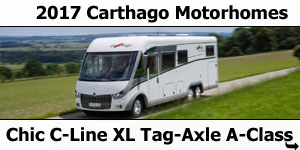 2017 Carthago Chic C-Line XL Motorhomes For Sale