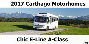 2017 Carthago Chic E-Line A-Class Motorhomes For Sale