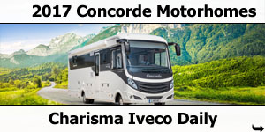 2017  Concorde Charisma Iveco Daily Motorhomes
