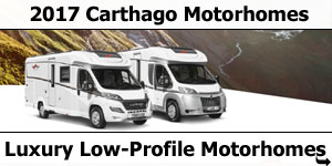 2017 Carthago Low-Profile Motorhomes