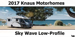 2017 Knaus Sky Wave Low-Profile Motorhomes