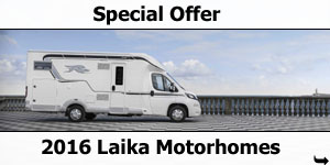 Special Offer: 2016 Laika Low-Profile Motorhomes