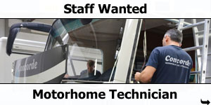 Staff Wanted: Motorhome Technician