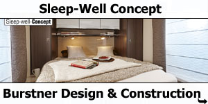 Burstner Sleep-Well Concept
