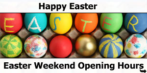 2017 Easter Weekend Opening Hours