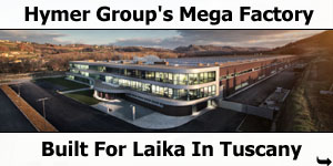 Erwin Hymer Groups New Mega Factory At Laika