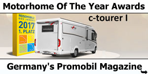 Carthago C-Tourer I Wins at Promobil Magazine Awards